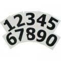 Adhesive Numbers(1234567890) 10Pack 55mm 10 Per Pack