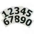 Adhesive Numbers(1234567890) 10Pack 55mm 10 Per Pack