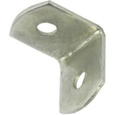 19mm X 19mm Steel Brackets Zinc 10 Per Pack