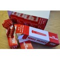 Red Wall Plugs 1000pcs (10 x boxes of 100)