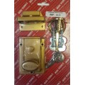 Nightlatch + Brass Cylinder Champagne Finish 1 Per Pack
