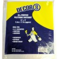 Dust Sheet Polythene 12'' X 9'' 1 Per Pack
